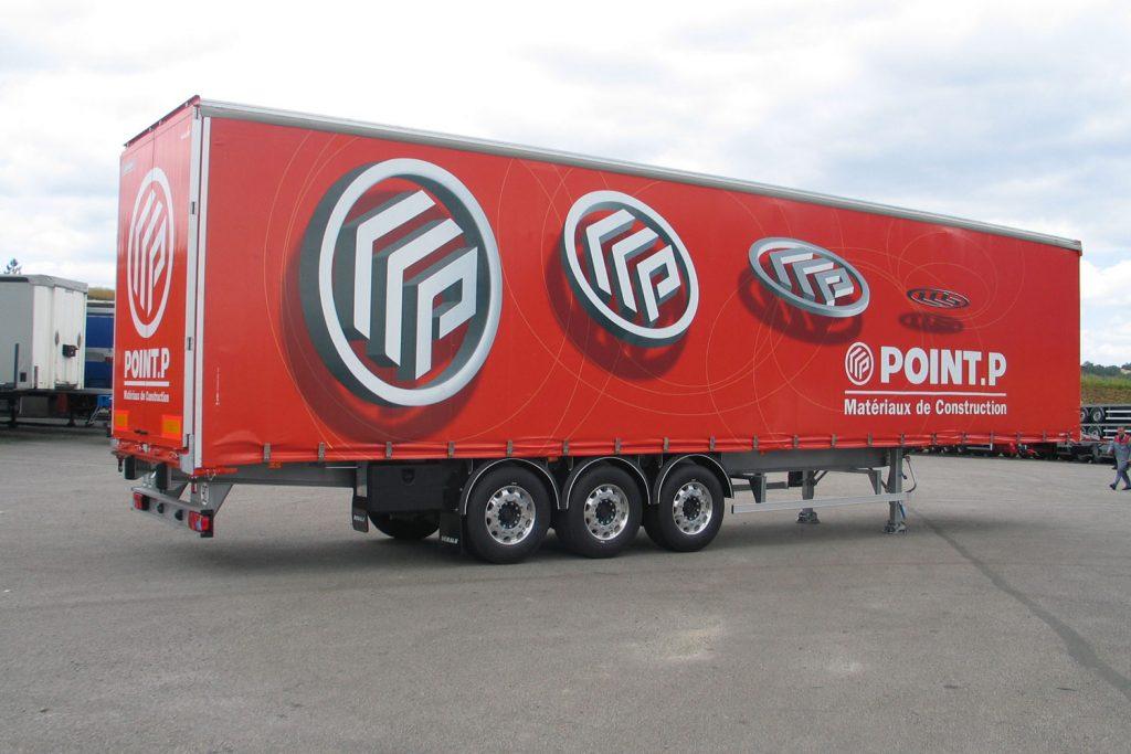 Lona para  Impresión de Camion