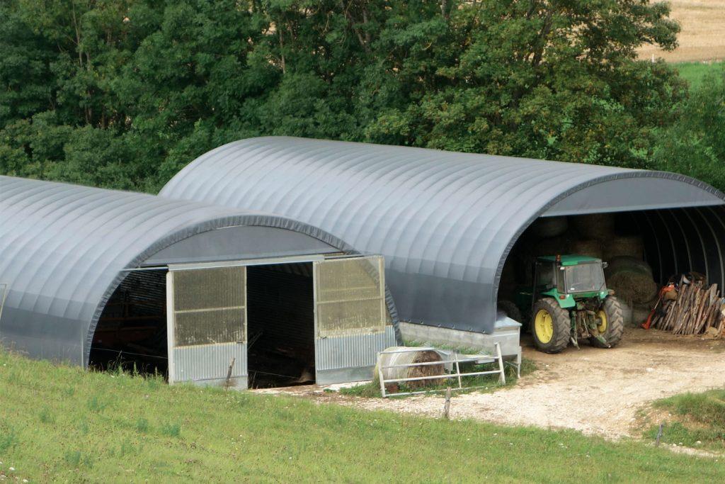 bâtiments agricole pour stockage de véhicule et matériel